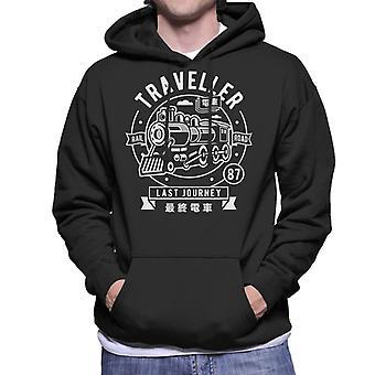 Traveller Rail Road Men's Hooded Sweatshirt