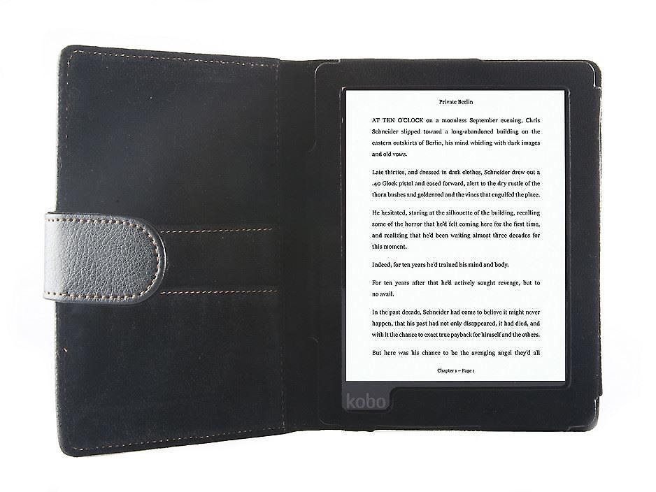 ODYSSEY dekking voor Kobo Aura (6 ') - zwart