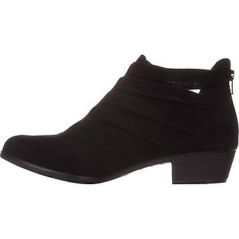 American Rag Womens Darie Leather Almond Toe Ankle Fashion Boots