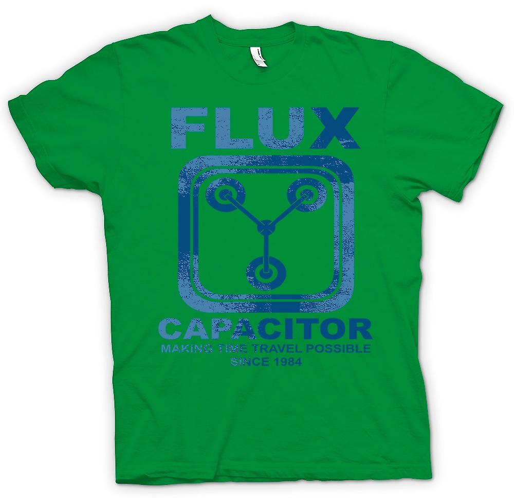 Mens T-shirt - Flux Capacitor - Making Time Travel Possible