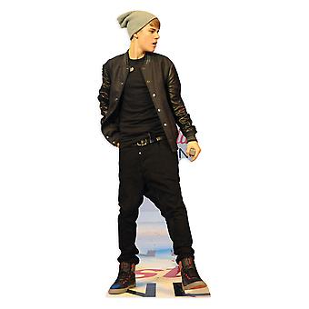 Justin Bieber On Stage - Lifesize Cardboard Cutout / Standee