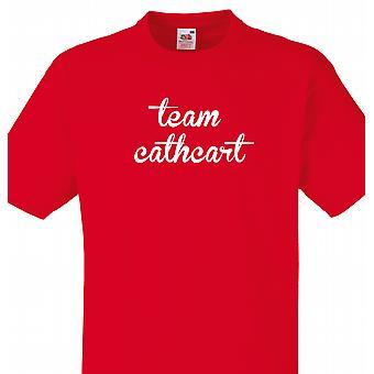 Team Cathcart Red T skjorte
