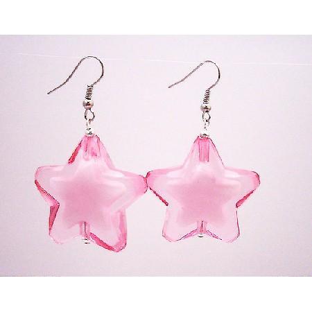 Party Wear Jewelry Stunning Star Jewelry Rose Star Earrings