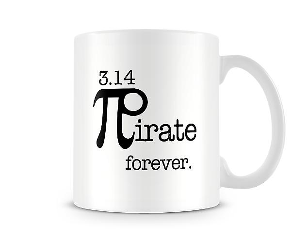 3.14 Pirate Forever Math Mug