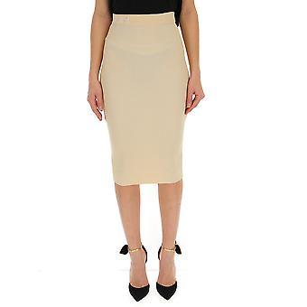 Fendi Beige Viscose Skirt