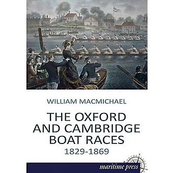 De Oxford en Cambridge bootraces door Macmichael & William F.