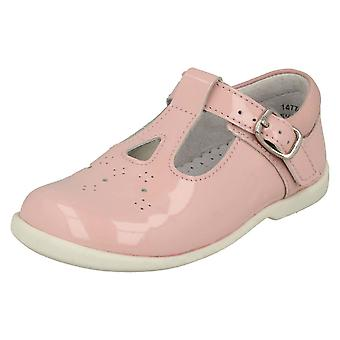 Girls Startrite Cut Out Detailed T-Bar Shoes Swirl