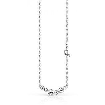 Necklace and pendant Guess UBN84080 - necklace and pendant Crystal metal money woman