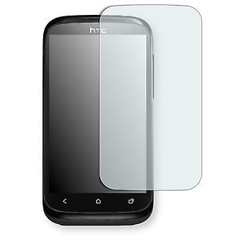 HTC desire X screen protector - Golebo crystal-clear protector (miniature sheet)