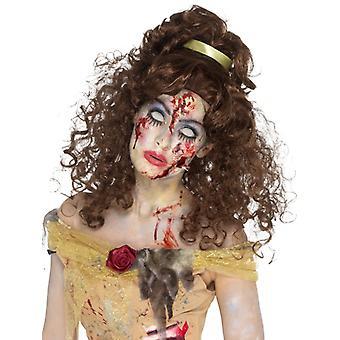 Zombie Golden Princess Wig