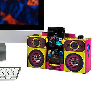Altavoz Boombox colorido