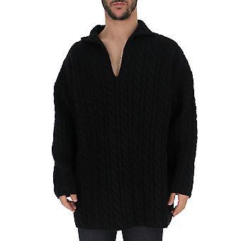 Balenciaga Black Wool Sweater
