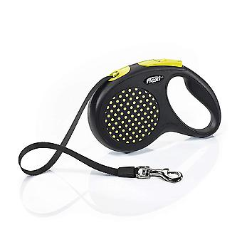Flexi Design Medium Tape Retractable Dog Lead