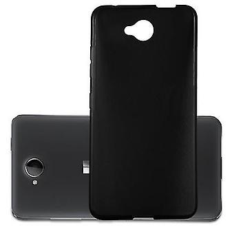 Cadorabo kotelo Nokia Lumia 650 kotelo Cover-matka Puhelin kotelo on valmistettu joustavasta TPU silikoni-silikoni kotelo suoja kotelo erittäin ohut pehmeä takakannen kotelo puskuri