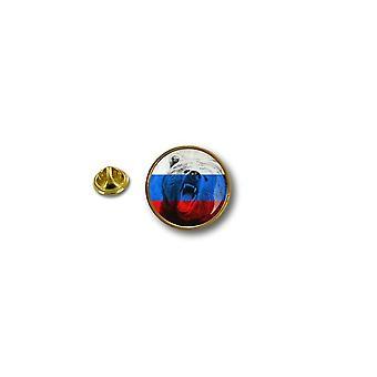 Pins Pin Badge Pin's Metal Biker Motard Drapeau Russie Ours Russe Urss R1