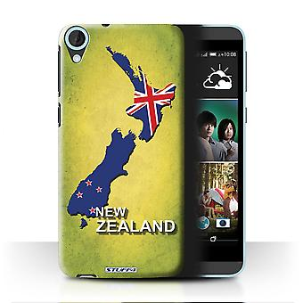 STUFF4 Case/Cover for HTC Desire 820q Dual/New Zeeland/Flag Nations