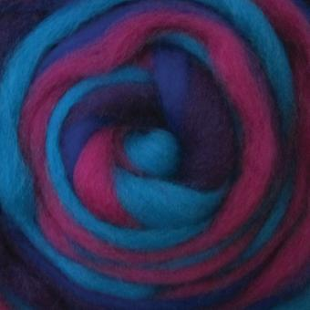 Wool Roving Stripe 12