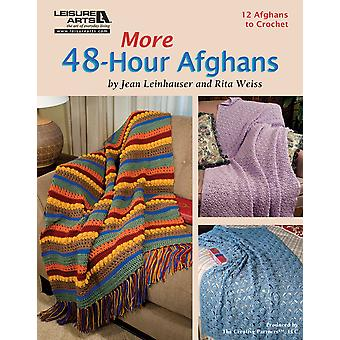 Leisure Arts More 48 Hour Afghans La 5511