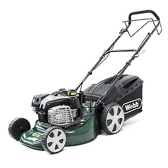 Webb R18SPES 18inch Electric Start Self Propelled Rotary Petrol Lawnmower