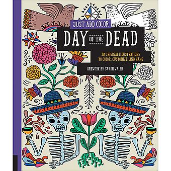 Rockport Books-Just Add Color - Day Of The Dead RKP-39512