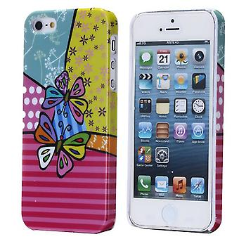 Cover with ties to colors for iPhone 5