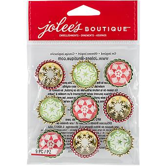 Jolee Boutique Dimensional Sticker-Schneeflocken E5021919