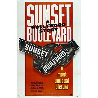 Sunset Blvd film plakat (11 x 17)