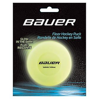 BAUER HOCKEY FLOOR PUCK GLOW IN THE DARK