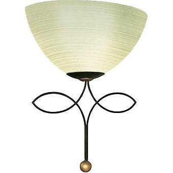 Wall light E27 60 W HV halogen, LED EGLO Beluga Traditional 89135 Champagne, Brown antique