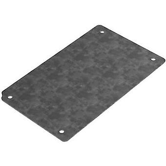 Mounting plate (L x W) 108 mm x 80 mm Steel plate Deltron Enclosures 4MP1212 1 pc(s)