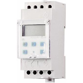 Finder 12.22.8.230.0000 - 16A Digital Weekly Time Switch DPDT-CO 250Vac