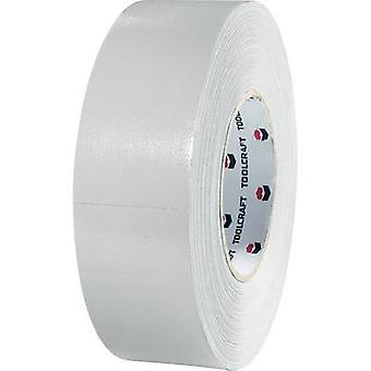 Heavy duty tape TOOLCRAFT 80S1250500 Silver (L x W) 50 m x 50 mm Natural rubber Content: 1 Rolls