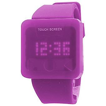 Led Watch Touch Screen Purple