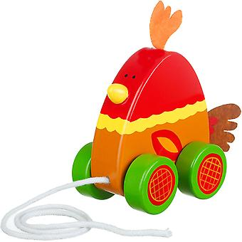 Orange Tree Toys Pull Along Chicken