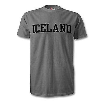 Iceland Country Kids T-Shirt