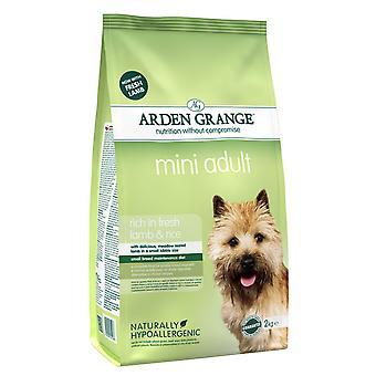 Arden Grange Mini Adult rige i fersk lam & ris 2kg