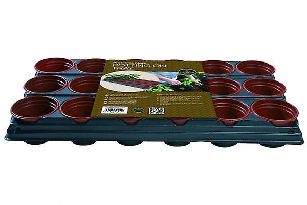 Potting On Tray (18 x 9cm Pots) Professional Planting Gardening