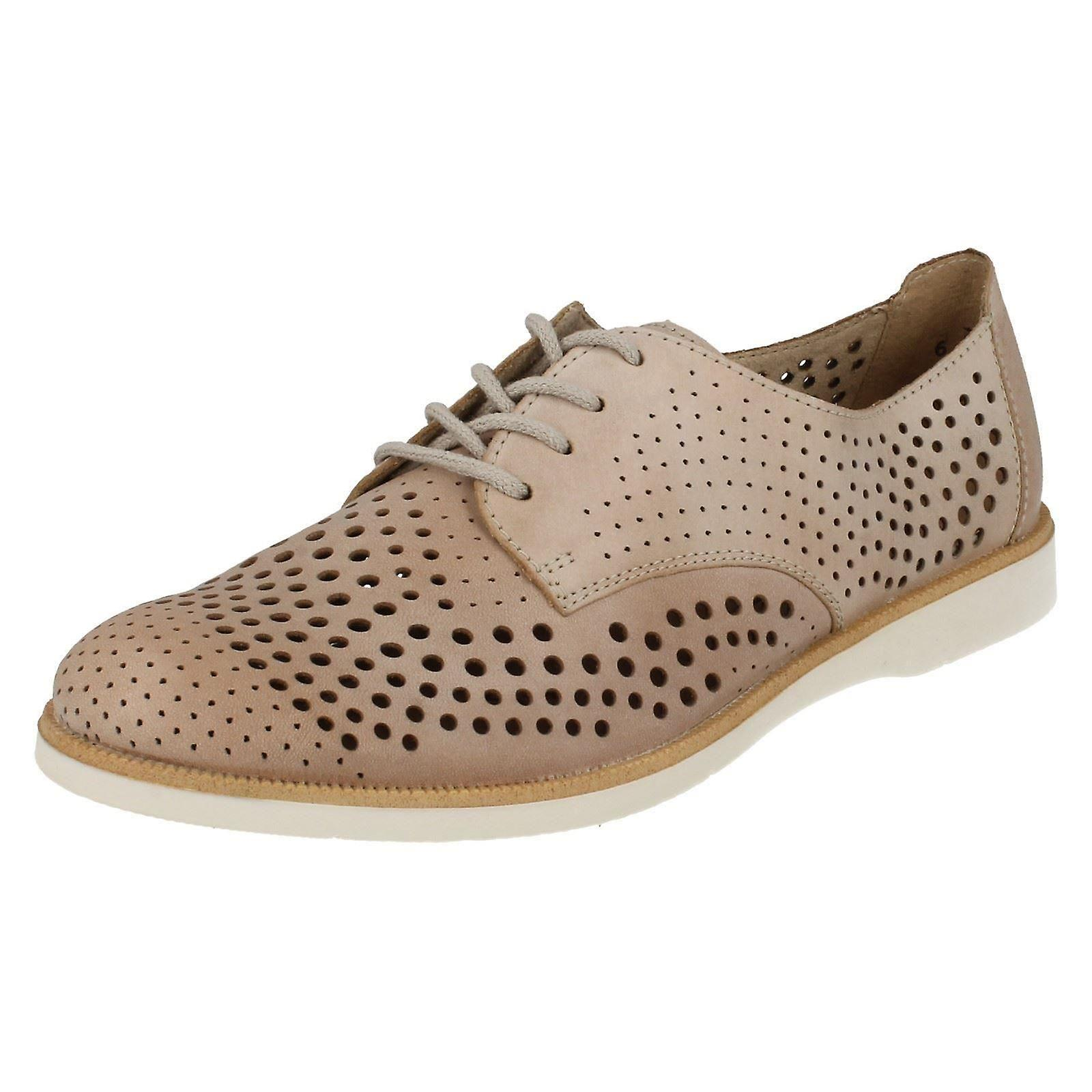 Ladies Remonte Smart Casual Lace Up Shoes R0403