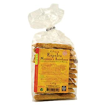Biospirit Spelt Cookies With Apple / Arandan 175 Gr. Biospirit