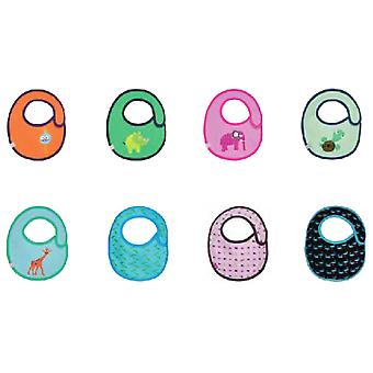 Lassig Assortment 12 pieces Bib (Childhood , Healthy diet , Power Accessories , Bibs)