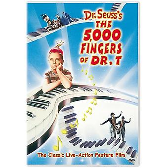 5000 Fingers of Dr T [DVD] USA import