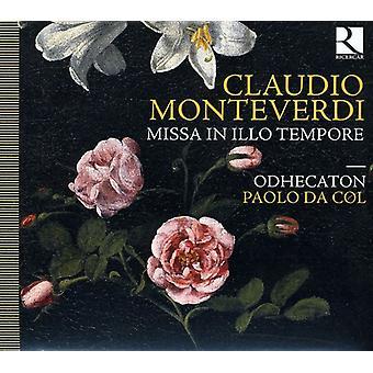 C. Monteverdi - Monteverdi: Missa i Illo Tempore [CD] USA import