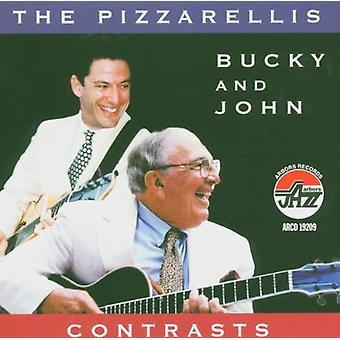 Bucky Pizzarelli & John - Contrasts [CD] USA import