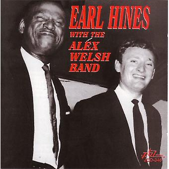 Earl Hines & Alex Walisisk Band - Earl Hines med Alex Walisisk Band [CD] USA importen