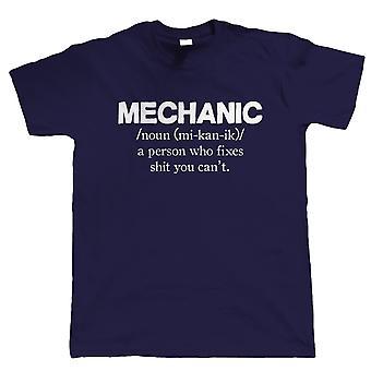 Mechaniker, Mens Funny T-Shirt