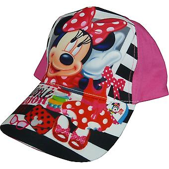 Girls Disney Minnie Mouse / Fashion Style Baseball Cap with Adjustable Back