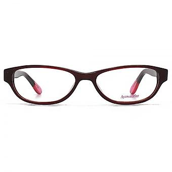 Accessorize Cateye Glasses In Red