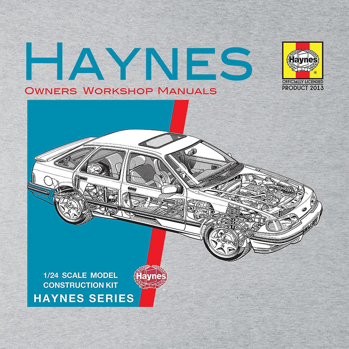 Haynes Owners Workshop Manual 0904 Ford Sierra V6 4 X 4 mannen Varsity Jacket