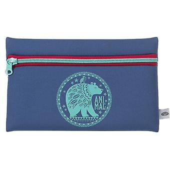 Animal Noely Pencil case - Vintage Blue