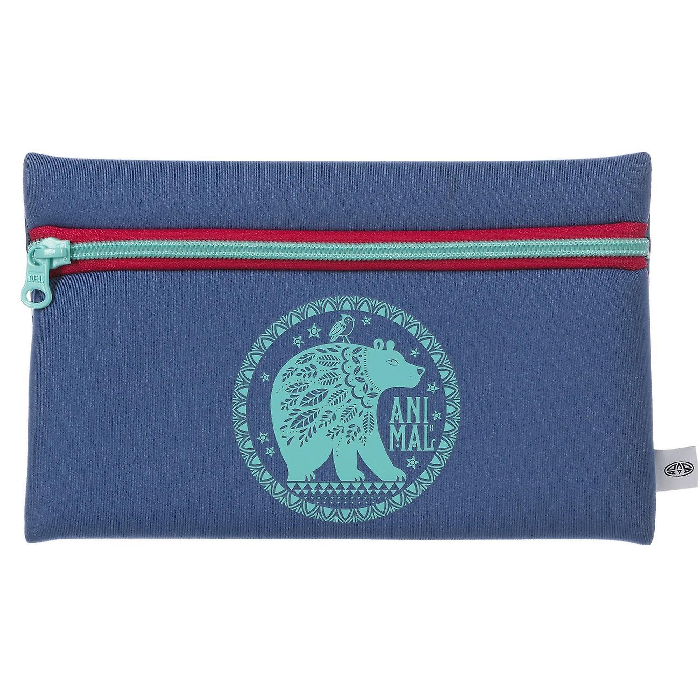 Animal Noely Pencil case - Vintage Blue